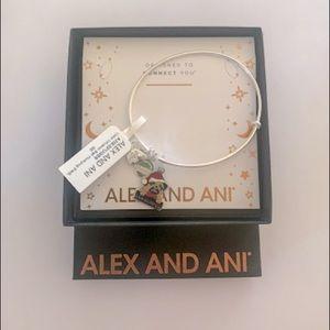 "Brand New Alex & Ani ""Bah Humpug"" Bangle Bracelet"
